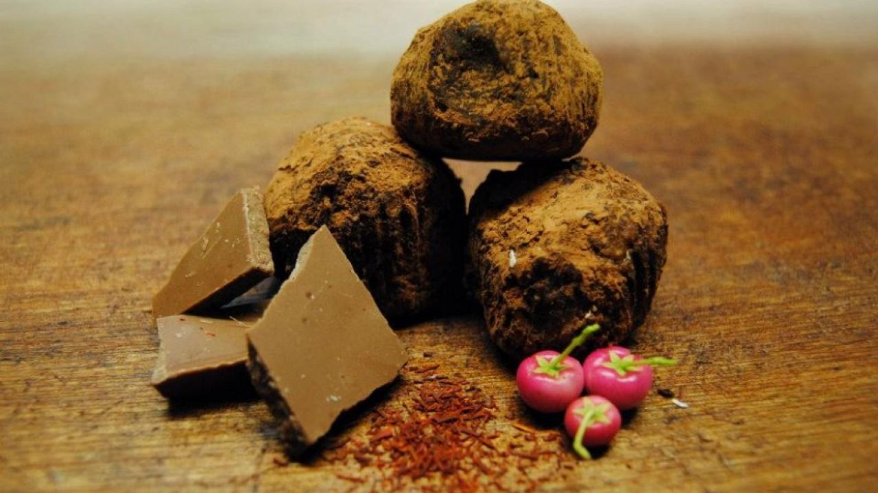 Čokoládovo Bylinkové Truffles